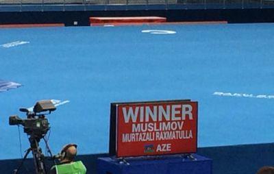 Еще один азербайджанский борец вышел в полуфинал Исламиады