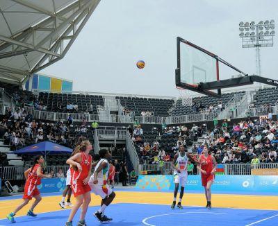 """""""Bakı-2017"""": Basketbol 3x3 üzrə kişilərin yarışında Azərbaycan millisi yarımfinala yüksəlib"""