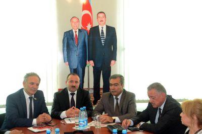"""Komissiya ilk iclasını """"Səs"""" qəzetində keçirdi - FOTOLAR"""