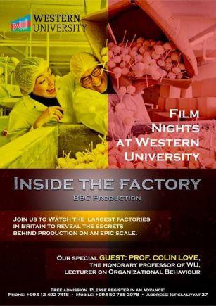 Qərb Universitetində Britaniya film festivalı başlayır