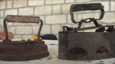 Goranboyda 150 yaşlı qədim ütü