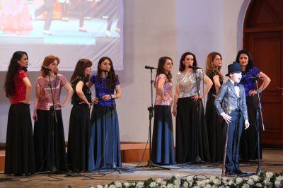 Müslüm Maqomayevin 75 illik yubileyinə həsr olunmuş konsert keçirilib