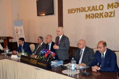 İslam Oyunları ilə bağlı dəyirmi masa keçirilib - YENİLƏNİB - SƏS TV  - FOTOSESSİYA