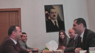 """Türkiyənin səfiri """"Səs"""" qəzetinin qonağı olub"""
