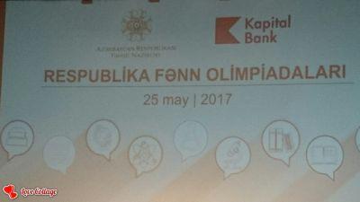 Respublika fənn olimpiadaları qalibləri mükafatlandırılıb - TƏDBİR