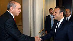 Прошла встреча Эрдогана с новым президентом Франции
