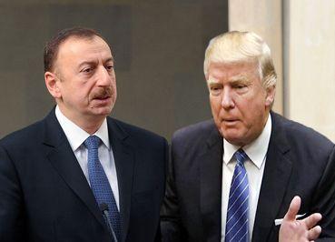 Donald C. Tramp Azərbaycan Prezidentini təbrik edib
