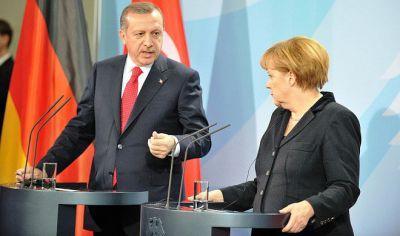 Merkel İncirlik məsələsində Ərdoğandan cavab gözləyir