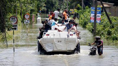 Şri-Lankada daşqın fəlakəti: 164 nəfər ölüb