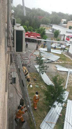 Moskva qasırğası Qazaxıstana da keçdi? - TƏBİİ FƏLAKƏT+ÖLÜM