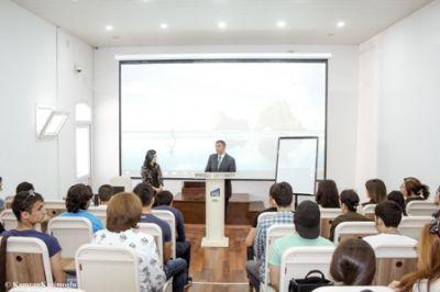 Misirli tədqiqatçı Qərb Universitetində seminar keçib