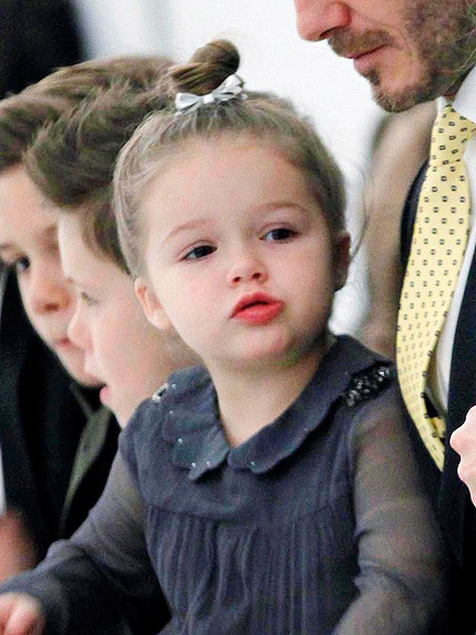 Prince George and HARPER BECKHAM- the most favourite celebrity.